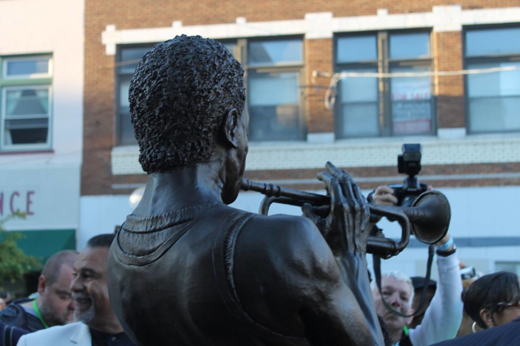 Miles Statue_rearview